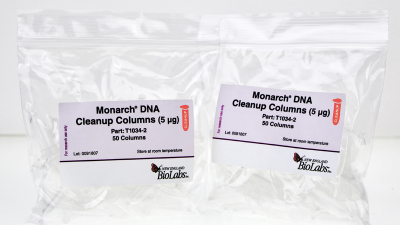 Monarch DNA Cleanup Columns 5ug