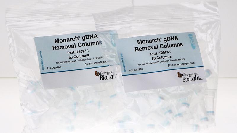 Monarch gDNA Removal Columns