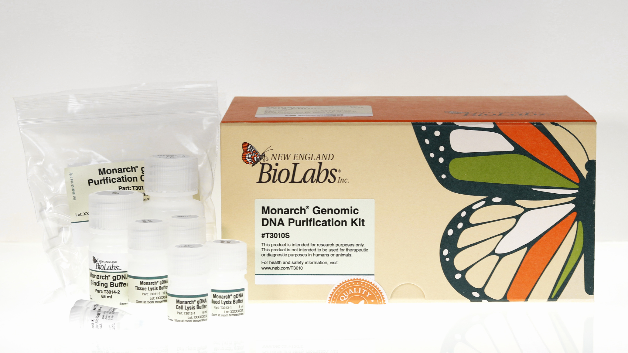 Monarch Genomic DNA Purification Kit