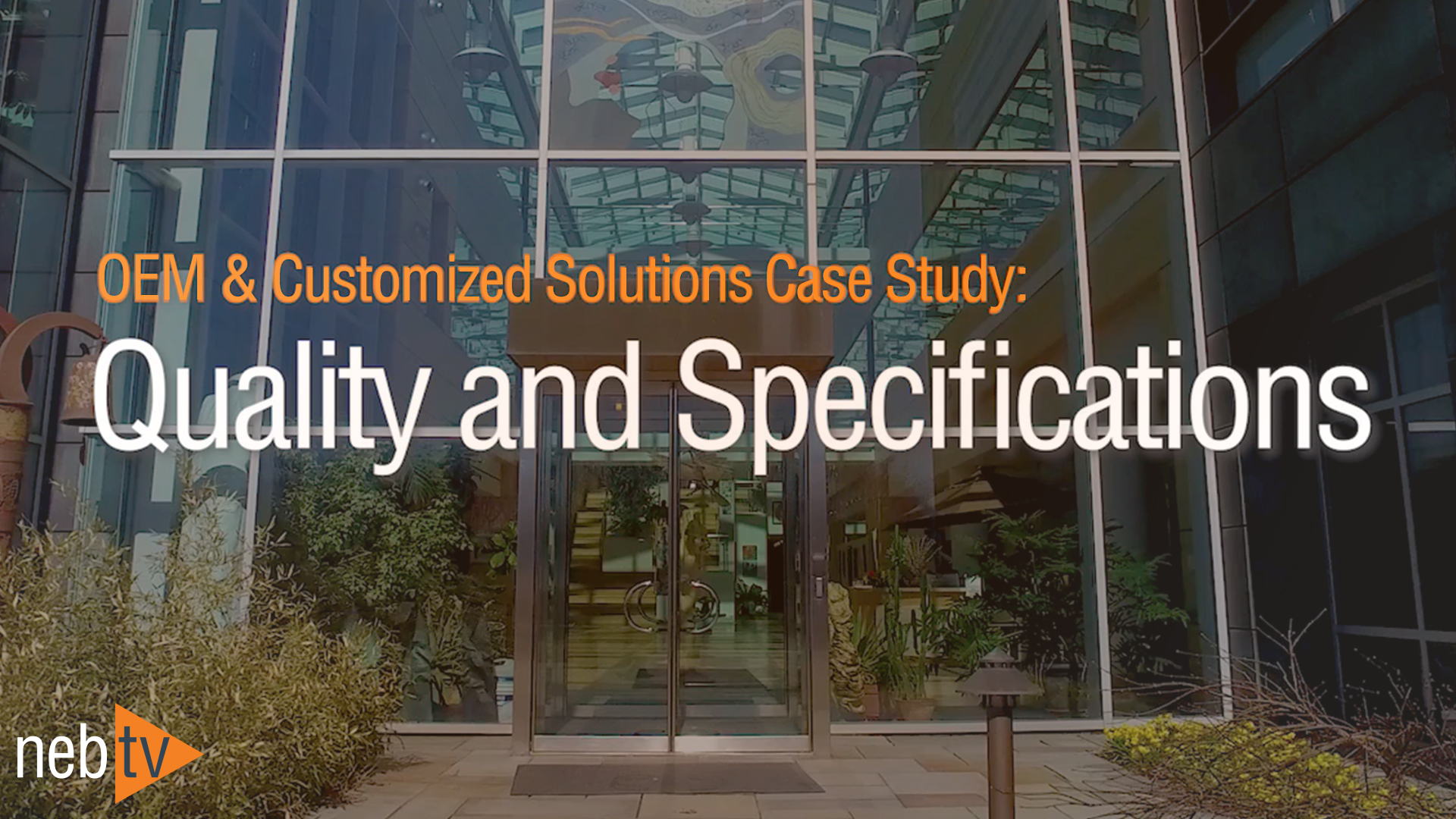 QualitySpecifications