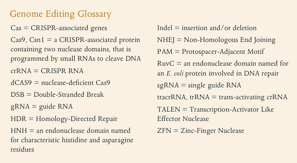 CRISPR/Cas9 and Targeted Genome Editing: A New Era in Molecular ...